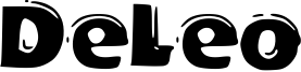 DeLeo Font