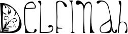 Delfinah Font