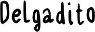 Delgadito Font