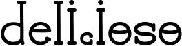 Delicioso Font