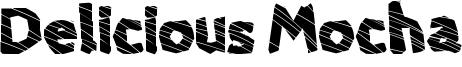 Delicious Mocha Font