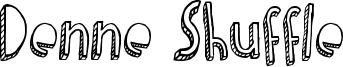 Denne Shuffle Font