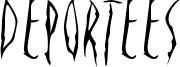 Deportees Font