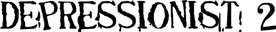 Depressionist 2 Font