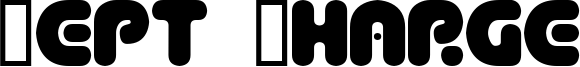 Dept Charge Font
