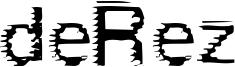 deRez Font