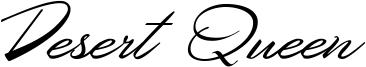 Desert Queen Font