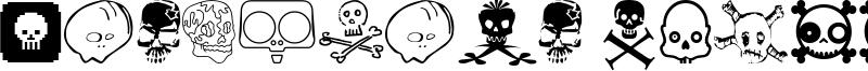 Designers Skulls Font
