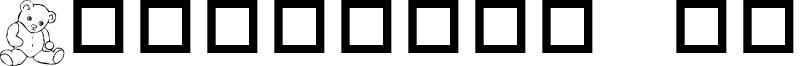 Destiny's Teddy Dings Font