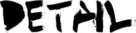 Detail Font
