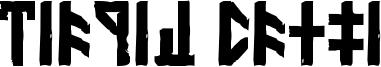 Dethek Stone Font
