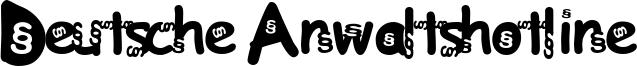 Deutsche Anwaltshotline Font