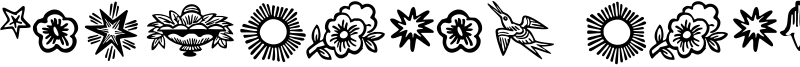 Deutscher Schmuck Font