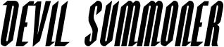 Devil Summoner Font