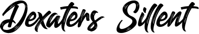 Dexaters Sillent Font