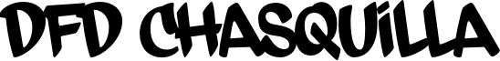 DFD Chasquilla Font