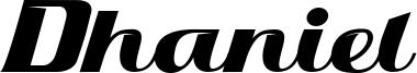 Dhaniel Font