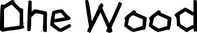 Dhe Wood Font
