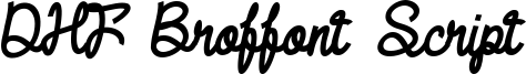 DHF Broffont Script Italic.ttf