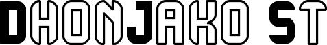 DhonJako St Font