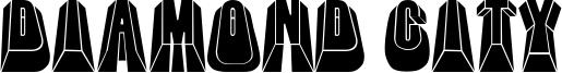 Diamond City Font