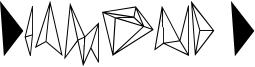 Diamond D Font