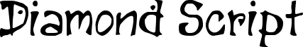 Diamond Script Font