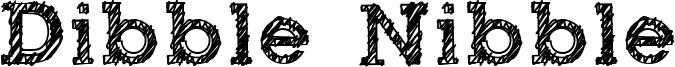 Dibble Nibble Font