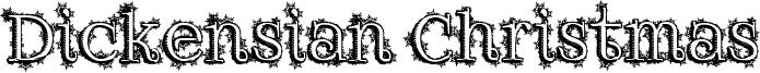Dickensian Christmas Font