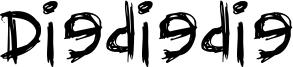 Diediedie Font