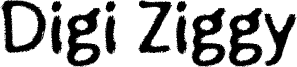 Digi Ziggy Font