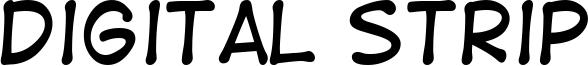 Digital Strip Font
