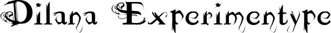 Dilana Experimentype Font