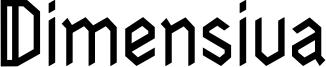 Dimensiva Font