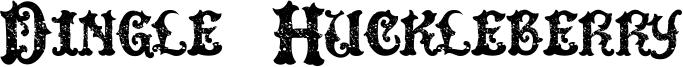 Dingle Huckleberry Font