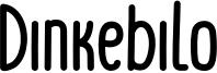 Dinkebilo Font
