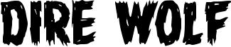 Dire Wolf Font