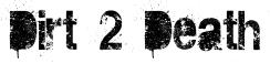 Dirt 2 Death Font