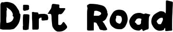 Dirt Road Font