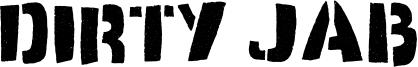 Dirty Jab Font