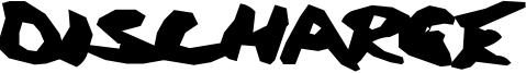 Discharge Font