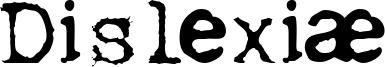 Dislexiæ Font