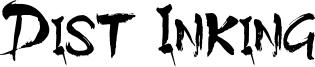 Dist Inking Font