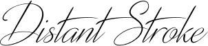 Distant Stroke Font