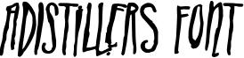 ADIstiLleRS Font Font