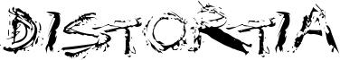 Distortia Font