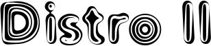 Distro II Font