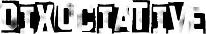 Dixociative Font