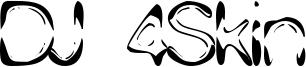 DJ 4Skin Font