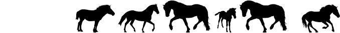 DJ Horses 1 Font